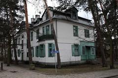 Duży murowany dom przy ulicy Kościuszki 20 w Otwocku