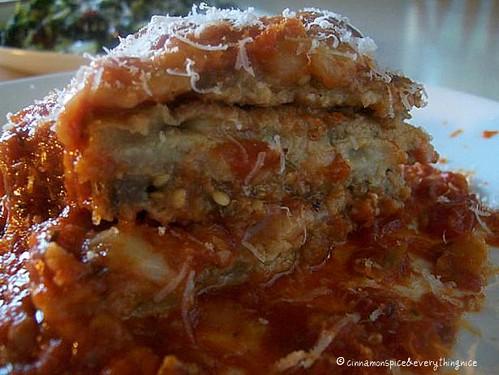 Mama's Eggplant Parmesan w/ Sausage
