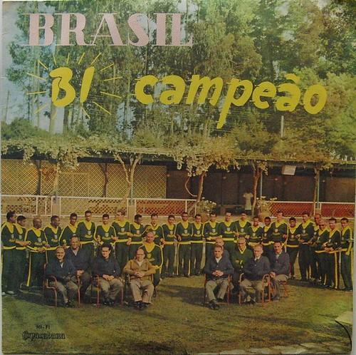 brasil bi campeao 1962 Lp-cover