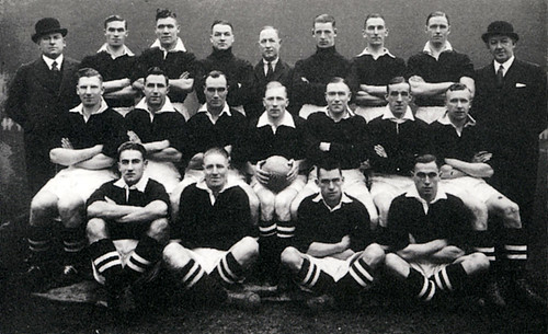 Manchester United 1935-36 team photograph