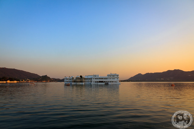 Taj Lake Palace By Day