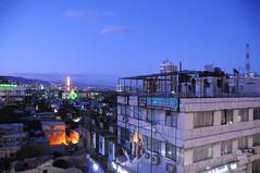 Twilight over Damascus / Syria (anji) Tags: middleeast syria damascus sham  dimashq alsham