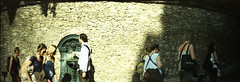 . (M_NGN) Tags: street paris iso200 crossprocessed fuji slide fujifilm rue diapo sprocketrocket developpementcrois