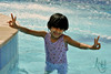 (Aseel™) Tags: blue summer pool girl swimming swim child little cousin 2011 aseel mashaallah aseel93