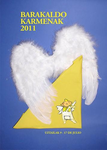 Cartel 6. Concurso Carteles de Fiestas de Barakaldo 2011