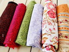tecidos de março (litllefabricris) Tags: flores cores handmade amor artesanato craft com tecidos costura florais feitoamão