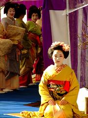 Baikasai () (ericlty) Tags: japan kyoto maiko geiko  teaceremony  ocha baikasai katsue katsuya kitanotenmangushrine  kamishichiken   plumblossomfestival  umeshizu ichiteru umechika