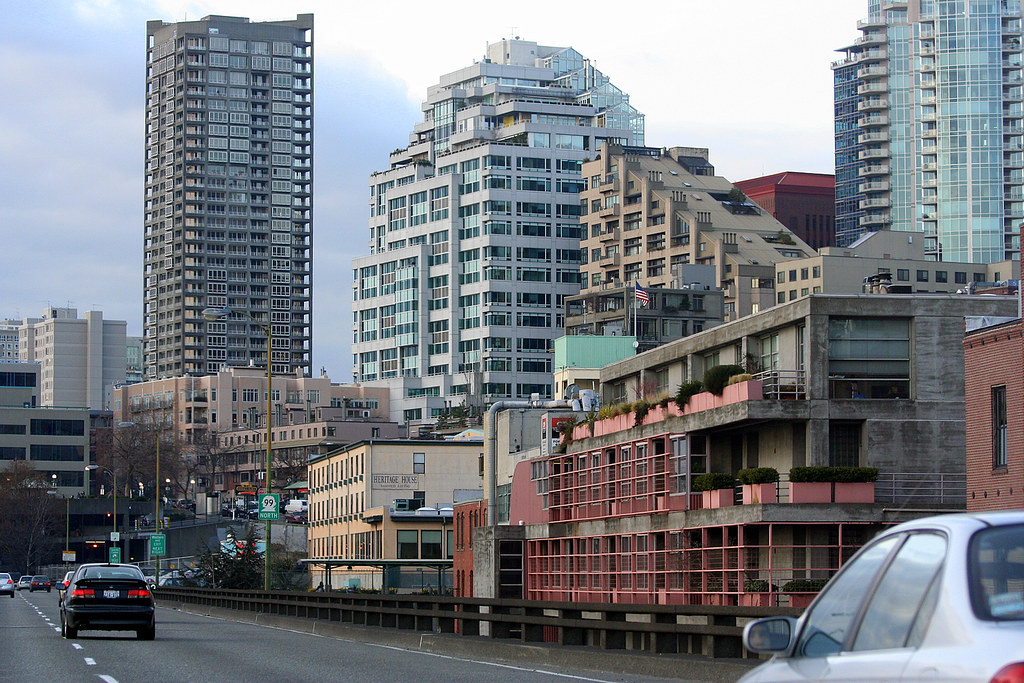 On The Viaduct Thru Belltown