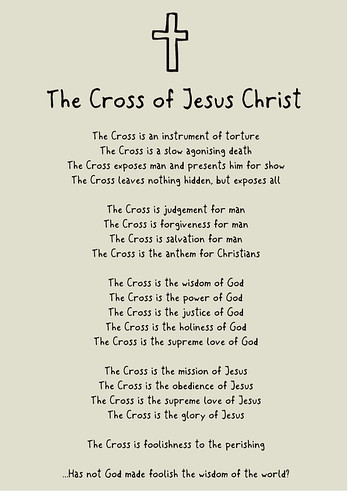 The Cross of Jesus Christ by Jasewiththeface