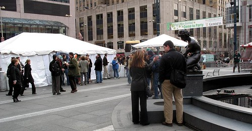 St. Patty's Fountain Square