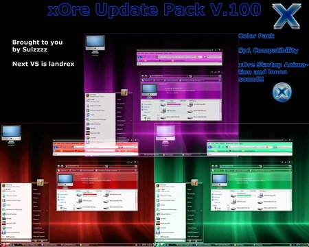 xOre Update Pack - Vista Theme