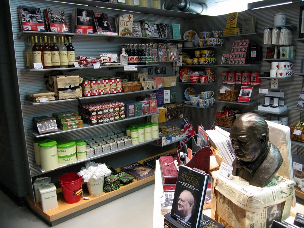 Cabinet War Rooms - Gift Shop