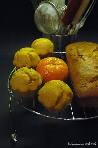 Cake all'olio e.v.di oliva e clementine