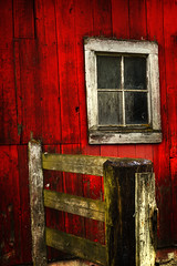 Old barn! (mcazadi) Tags: old red window barn fence carnation themoulinrouge firstquality supershot