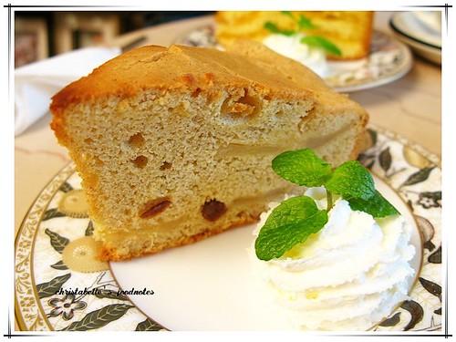 瑪格莉特咖啡館蘋果焦糖蛋糕