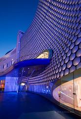 Selfridges Birmingham (. Andrew Dunn .) Tags: england architecture night facade shopping birmingham selfridges bullring futuresystems interestingness6 i500 cy2 challengeyouwinner cyspecialchallengewinner