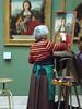 deux Madeleine (piegui) Tags: louvre musée peinture madeleine copiste quentinmetsys