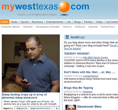James on My West Texas.com