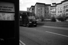 014 (Blacknoise) Tags: road street light urban film home 35mm photography diy traffic streetphotography delta olympus xa2 400 button wait push analogue van xa process developed hc ilford pushprocess ilforddelta ilfotec
