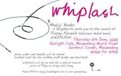 Whiplash - Launch Invite