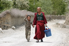 Joie de vivre (gurbir singh brar) Tags: india joy happiness buddhism monks tabo gurbirsinghbrar