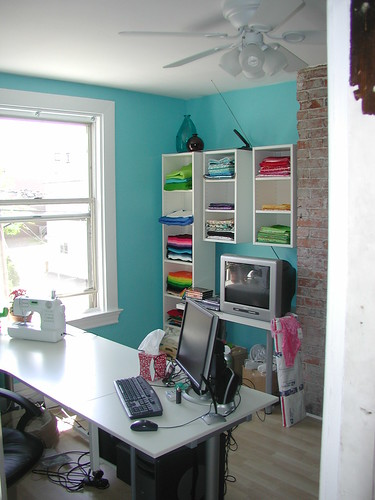 craft room transformation by crafty intentions