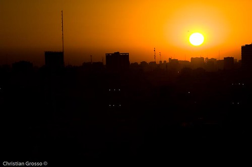 Atardecer de Buenos Aires