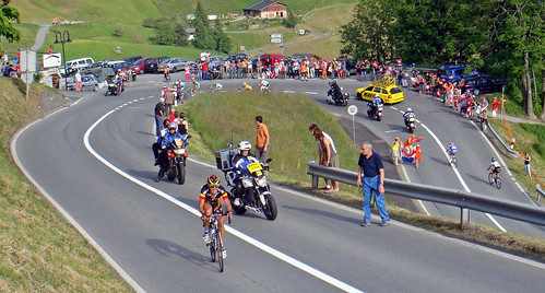 Tour of Switzerland - the Leader