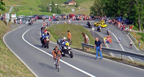 Tour of Switzerland - the Leader