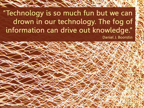 too much information, too little knowled by Will Lion, on Flickr