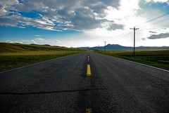 US 24 - Hartsel, Colorado (zyrcster) Tags: road sky clouds landscape freedom highway colorado view pavement roadtrip traveling asphalt flickrmeet hwy24 hartsel us24 challengeyouwinner omot photofaceoffwinner photofaceoffplatinum brokenyellowline pfogold creativecomments Upcoming:Event=730708 aug08pfobrackets us24throughtheheartofamerica bigpictr