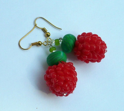 berry earrings1