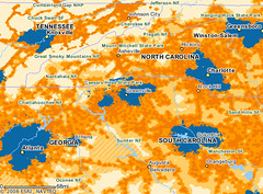 AT&T 3G Coverage Map