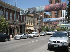 The cute Larimer Square district. (07/03/2008)