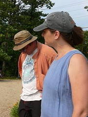 Eric and Cassie at the Beach (alist) Tags: alist dublinnh robison cassiecleverly alicerobison july2008 ajrobison