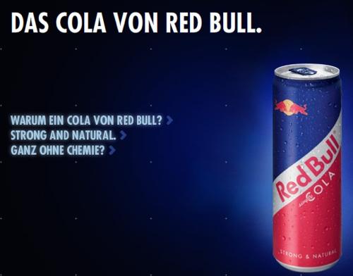 Rechtschreib-Check: Das Cola von Red Bull