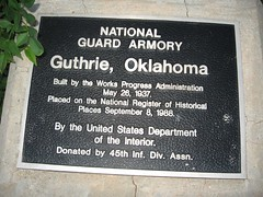 Exploring Oklahoma History: Guthrie National Guard Armory