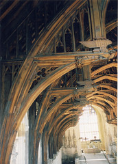 Westminster Hall - ceiling (UK Parliament) Tags: uk roof london history archaeology westminster unitedkingdom politics housesofparliament parliament commons beam mp lords peers houseoflords houseofcommons westminsterhall mps ukparliament