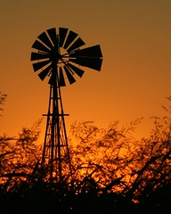 Oklahoma Windmill - explore (Marvin Bredel) Tags: sunset orange oklahoma windmill silhouette rural explore marvin windpower interestingness111 kingfishercounty i500 marvin908 bredel marvinbredel