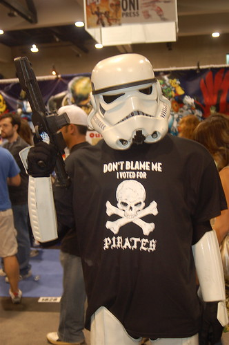 Comic Con 2008: I Voted for Pirates