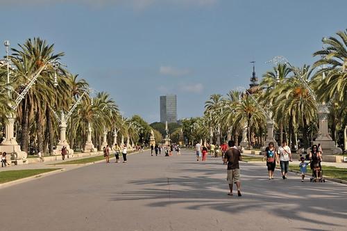 Parc de la Ciutadella Walkway, Barcelona, By FaceMePls