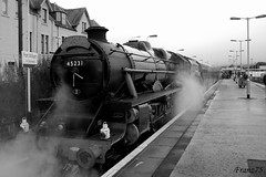 Binario 9 e 3/4 (franz75) Tags: uk d50 scotland nikon track alba unitedkingdom harry potter harrypotter railway steam express hogwarts fortwilliam rowling scozia jacobite binario binario9e34 kathleenrowling