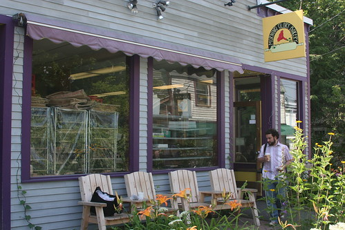 The bakery in Bar Harbor