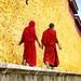 黄墙下的喇嘛