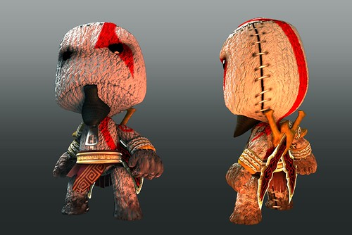 LBP - God of War Render
