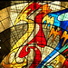 Cosmovitral (detalle de vitrales) - Toluca M�xico 2008 9360