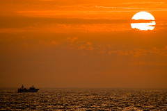 Road to Sunset (Alfonso Silóniz) Tags: sunset photoblog cadiz puestadesol especial