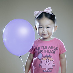Little Miss Birthday (jwlphotography) Tags: birthday pink canon 50mm balloon happybirthday 5d kayla 2yearsold rogerhargreaves strobist 3lights littlemissbirthday jwlphotography