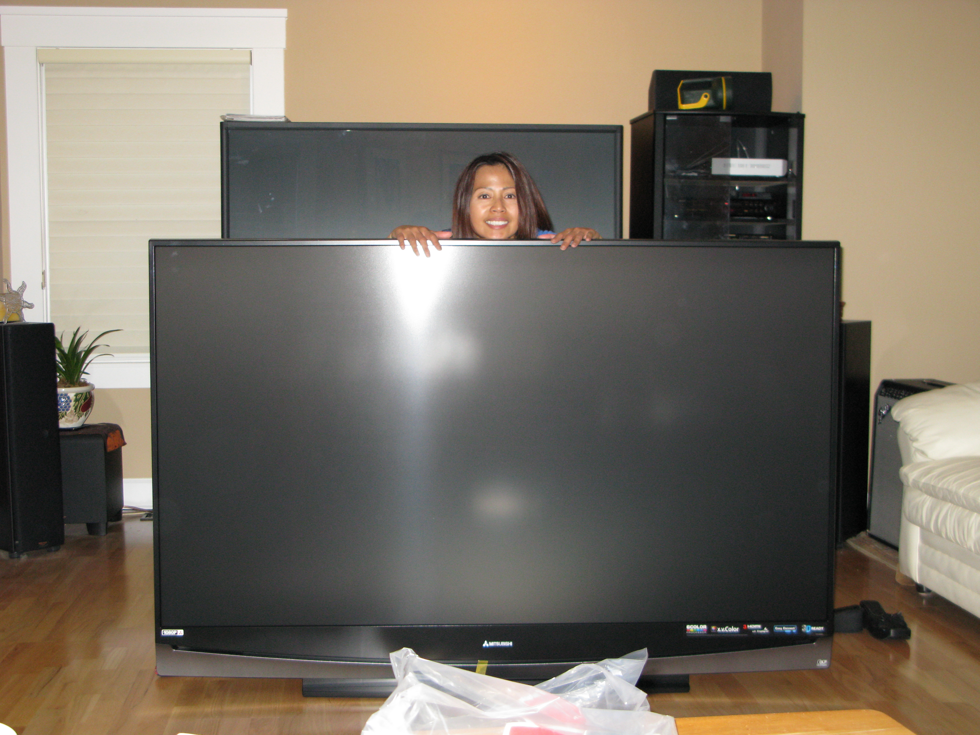 tvs large design mid by best range sony usage sports reviews mitsubishi the dlp for watching tv
