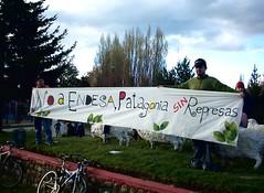 Protestas (yvoandres) Tags: chile coyhaique manifestacin patagoniachilena coihaique patagoniasinrepresas chileanpatagonia